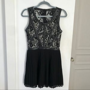 Millau Black A-Line Dress